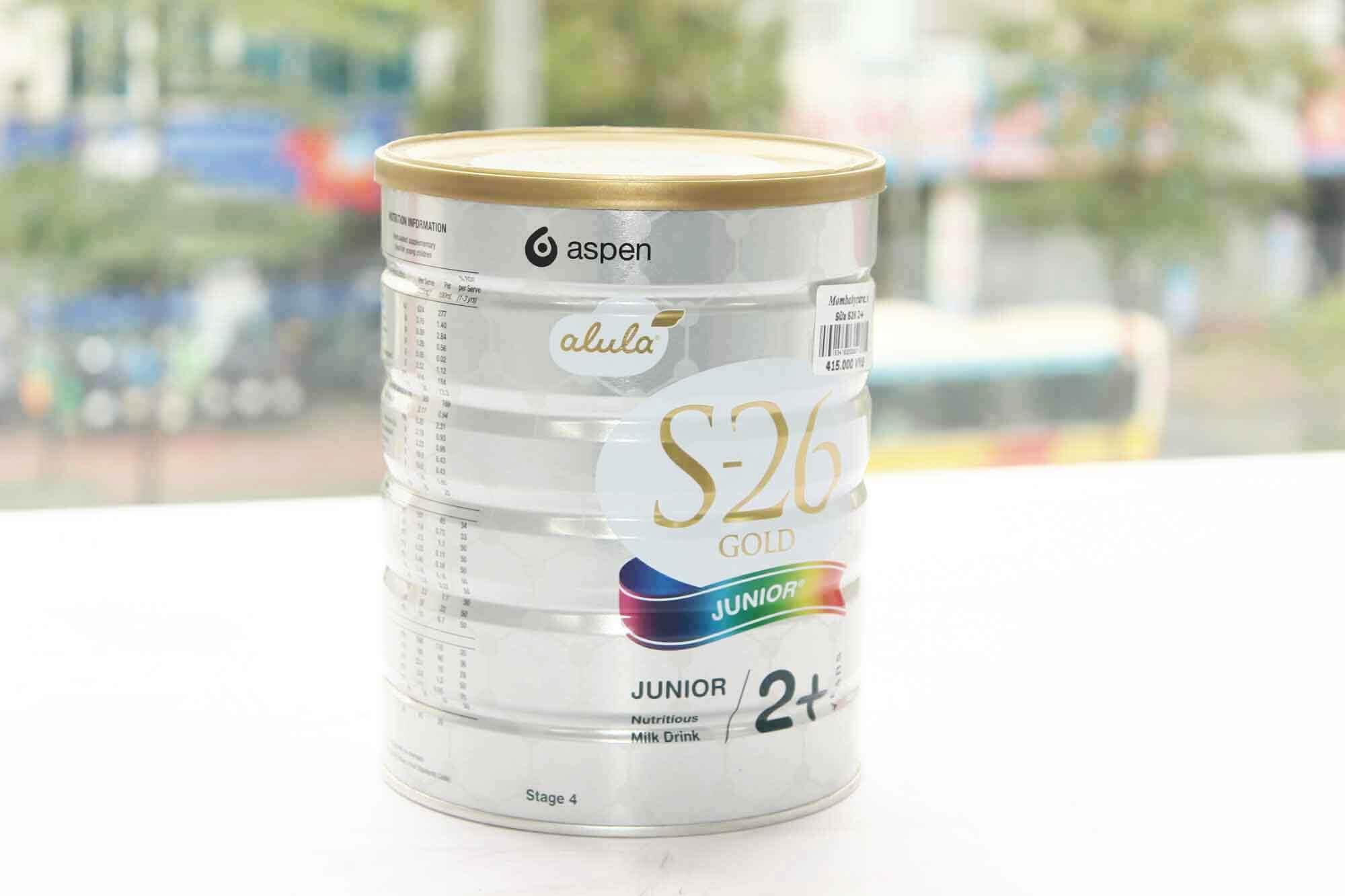 Sữa s26 số 2+ cho bé trên 2 tuổi