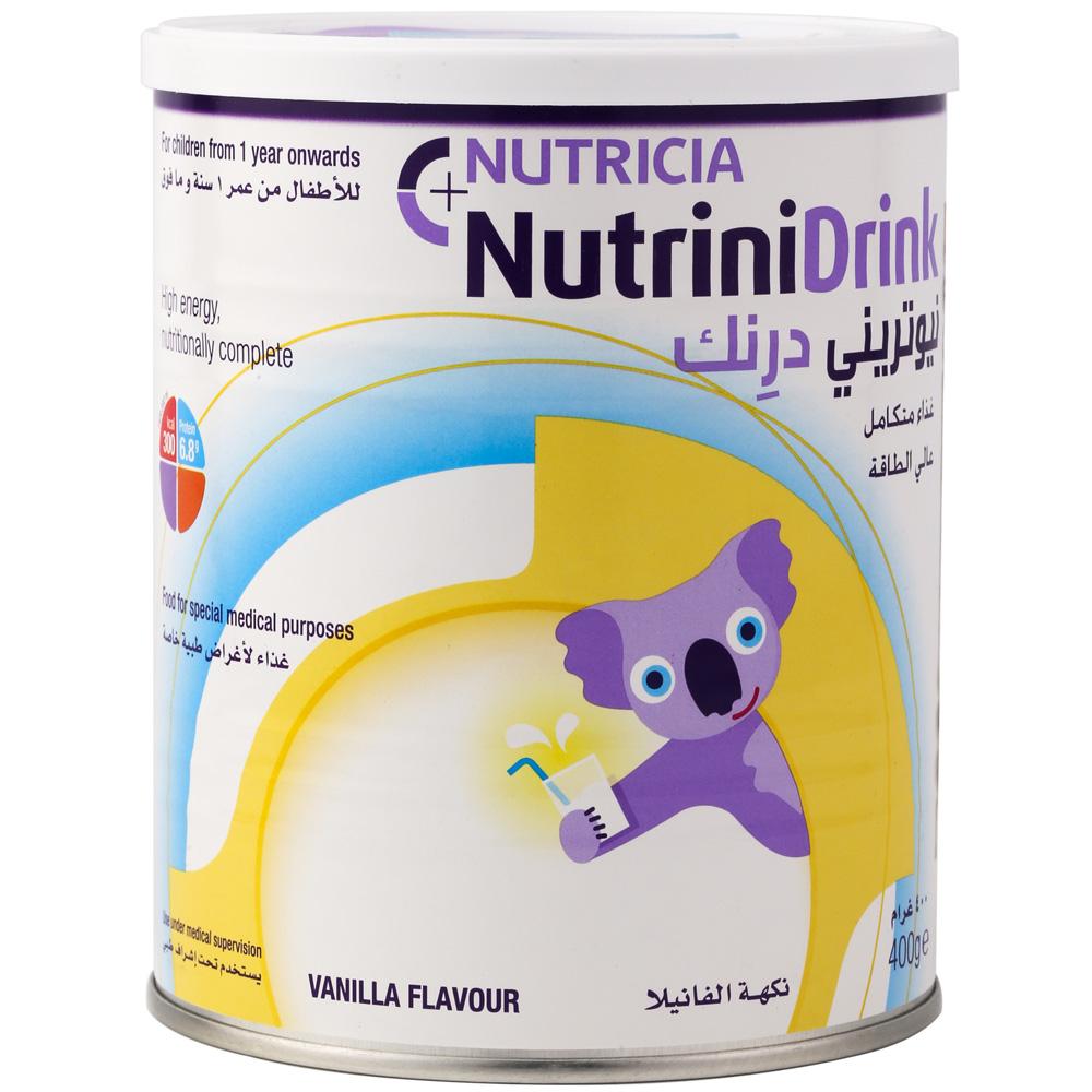 Sữa Nutrinidrink dinh dưỡng hoàn chỉnh cho bé tăng cân nhanh