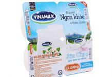 1 Thùng sữa chua Vinamilk bao nhiêu tiền và gồm bao nhiêu hộp?